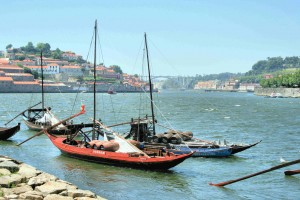 Douro river at Porto