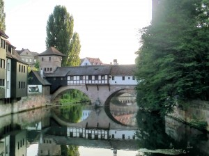 Bridge over Pegnitz