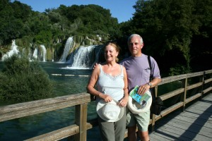 Silver surfers, Krka National Park, Croatia