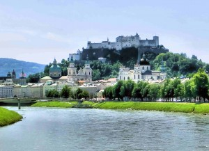 Salzburg Fortress and the Old Town
