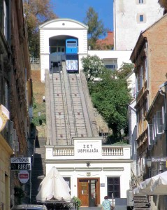 Funicular link to Old Town