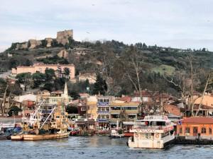 Bosphorus ferry terminus at Anadolu Kavağı