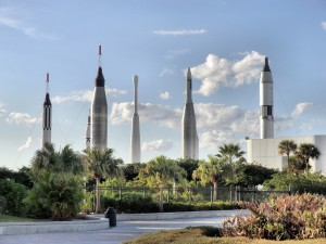Cape Kennedy Rocket Garden