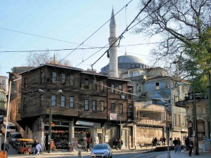 Walking through the historical part of Istanbul