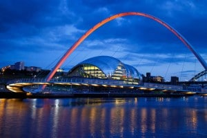 Millennium Bridge and The Sage Gateshead