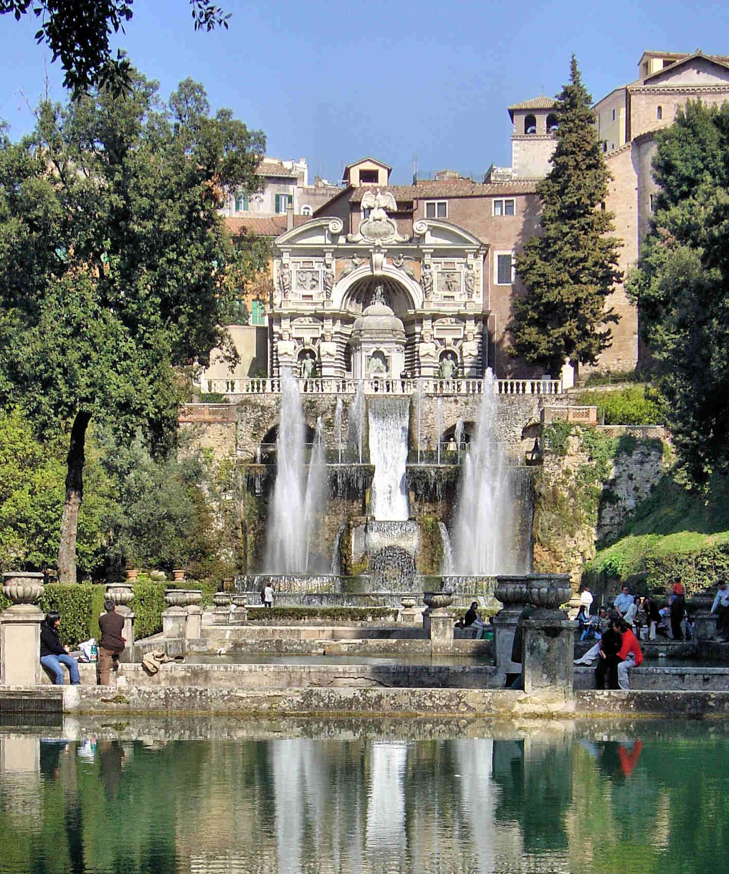 Villa D 39 Este Tivoli Italy Top Gardens
