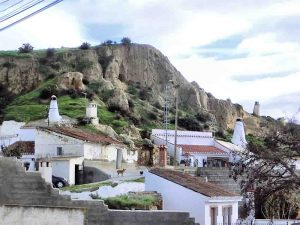 Cave houses in Guadix