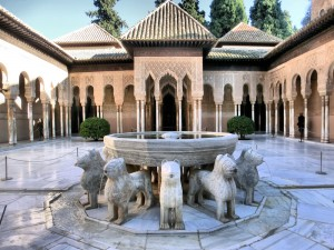 Fountain of Lions, Nasrid Palace, Alhambra