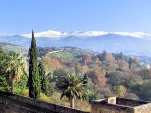Winter Breaks: Sierra Nevada from the Alhambra