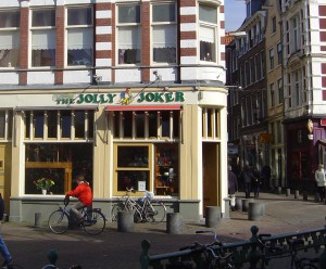 Coffee Shop in Central Amsterdam