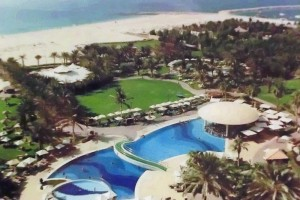 Le Meridien Dubai - Pool, garden and beach