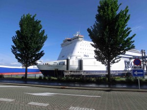 PO Ferry berthed in Rotterdam