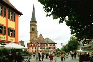 Schwabach town square