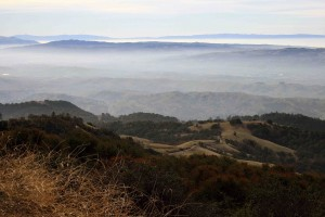 Panoramic view from Mount Diablo