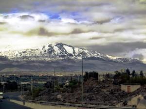 Mt Etna dominates NE Sicily
