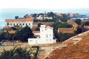 Goree from the fortress