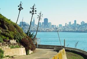 San Francisco waterfront from Alcatraz