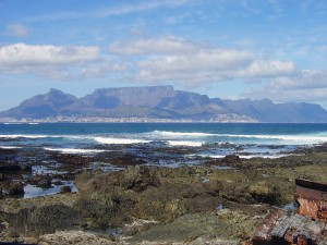 View from Robben Island shore