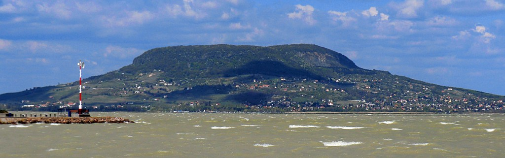 Badascony viewed from Fonyod