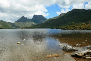 Cradle Mountain viewed from Lake Dove, Tasmania