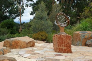 Australian National Botanic Gardens - Centrally placed sundial