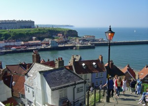 Church Steps down to Whitby town