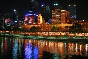Victoria - Yarra River Promenade, Melbourne