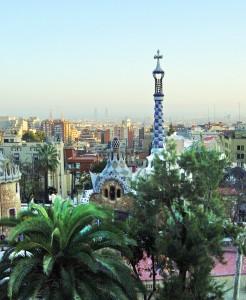 Barcelona - Gaudi architecture at Park Güell