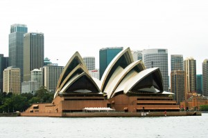 Travel insurance - Sydney Opera House