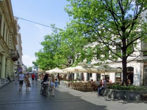 Central Belgrade, Knez Mihailova pedestrian area