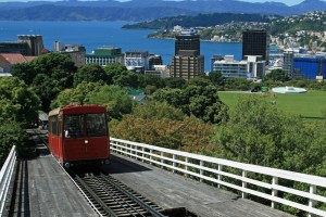 Wellington -Cable Car from Lambton Quay