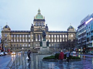 National Museum at the top of Wenceslas Square
