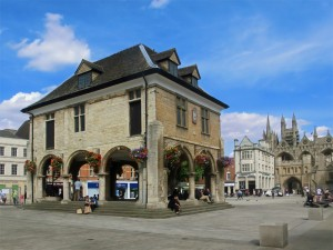The Guildhall in Cathedral Square, Peterborough