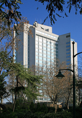 Luxurious Istanbul Intercontinental Hotel