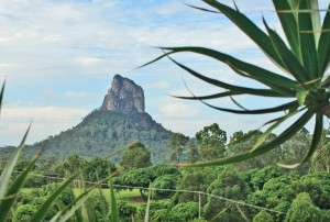 Mt Coonowrin, Glass House Mountains