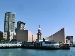 Clock Tower and Hong Kong Museum of Modern Art