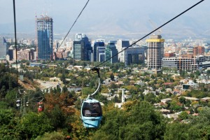 Cable Car in Santiago