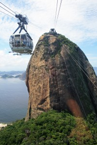 Cable Car to Sugarloaf summit