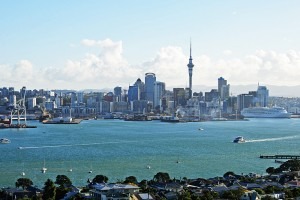 Central Auckland from Mt Victoria, Devonport
