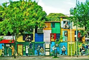 La Boca District of Buenos Aires