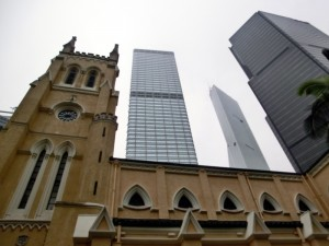 St John's Cathedral - Central Hong Kong Island