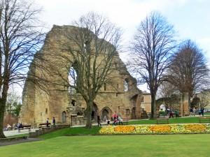 Remains of Knaresborough