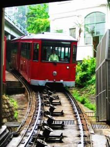 Tram up HK Island Peak