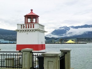 Brockton Point Lighthouse in Stanley Park