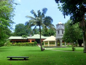 Clock Tower and Fiji Museum