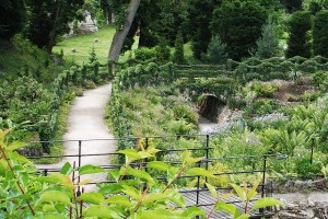 Brodsworth: Rock Garden walkways