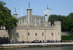 Entry to the Traitors Gate, Tower of London