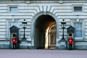 On Guard at Buckingham Palace