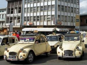 Madagascar - 2CV Taxis