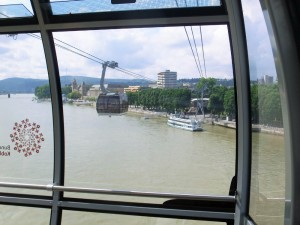 Cable Car over the Rhine